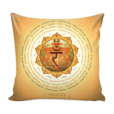 Third Chakra - Pillow Cover