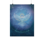 Universal Peace Dove 108 Poster