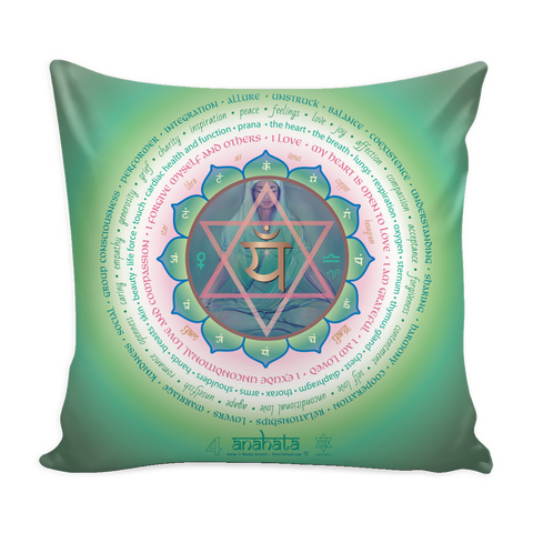 Fourth Chakra - Pillow Cover