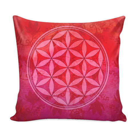Flower of Life - Vivid Colors Pillow Covers