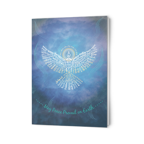 Universal Peace Dove - Greeting Cards