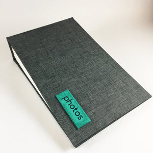 Magpie Gray and Teal Instax Mini Album
