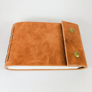 Caramel Brown Leather Sketchbook