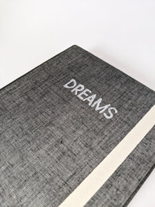 Magpie Grey Cloth Dream Journal