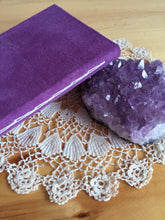 Purple Suede Vow Book