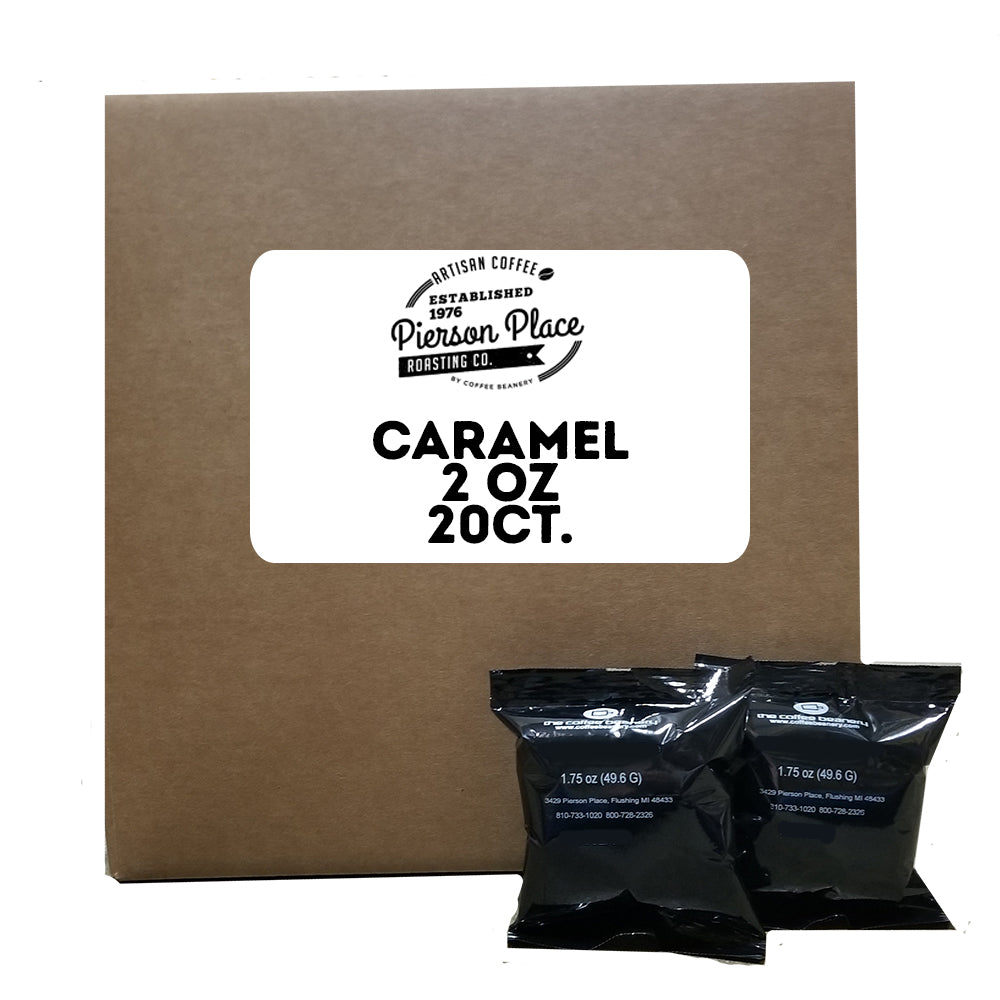 Caramel Flavored Gourmet Coffee | 20bags/box, 20boxes/case