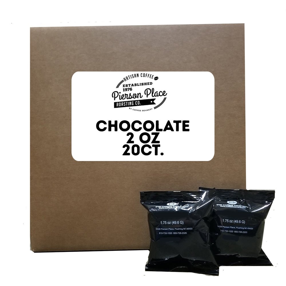 Chocolate Flavored Gourmet Coffee | 20bags/box, 20boxes/case