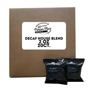 DECAF House Blend - Java Select | 20bags/box, 20boxes/case