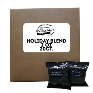 Holiday Blend Flavored Gourmet Coffee | 20bags/box, 20boxes/case