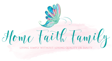 Home Faith Family Printables