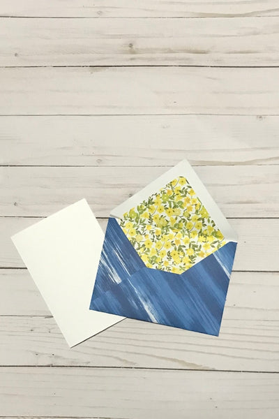 greeting card with envelope and insert for design space cricut