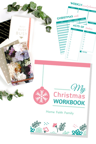 photograph regarding Home and Family Christmas Workbook identified as My Xmas Workbook 22 webpages