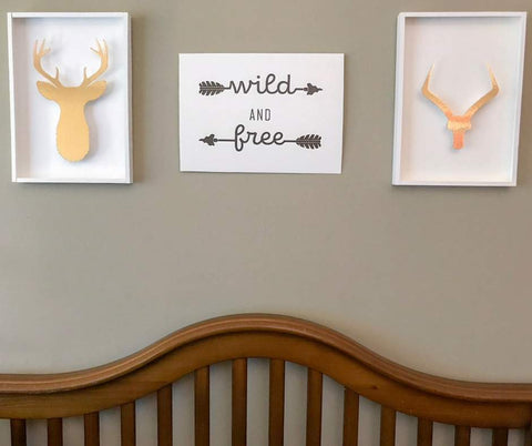 West Elm Knock-Off Wild & Free SVG