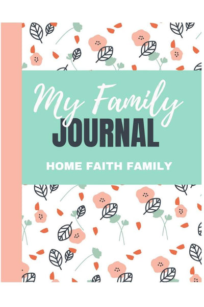 family journal editable PDF