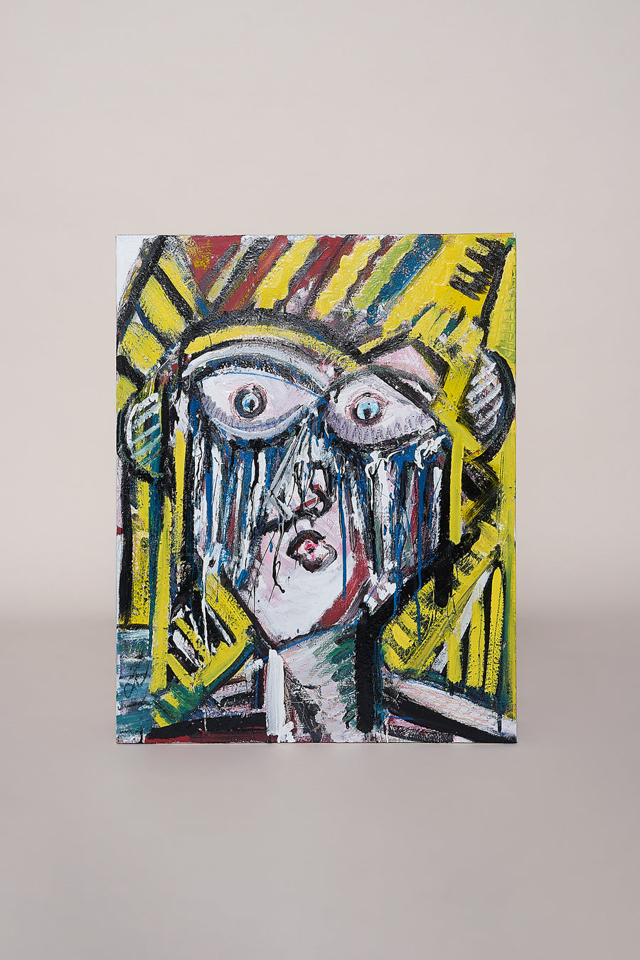 Cahill Weeping Lady Painting