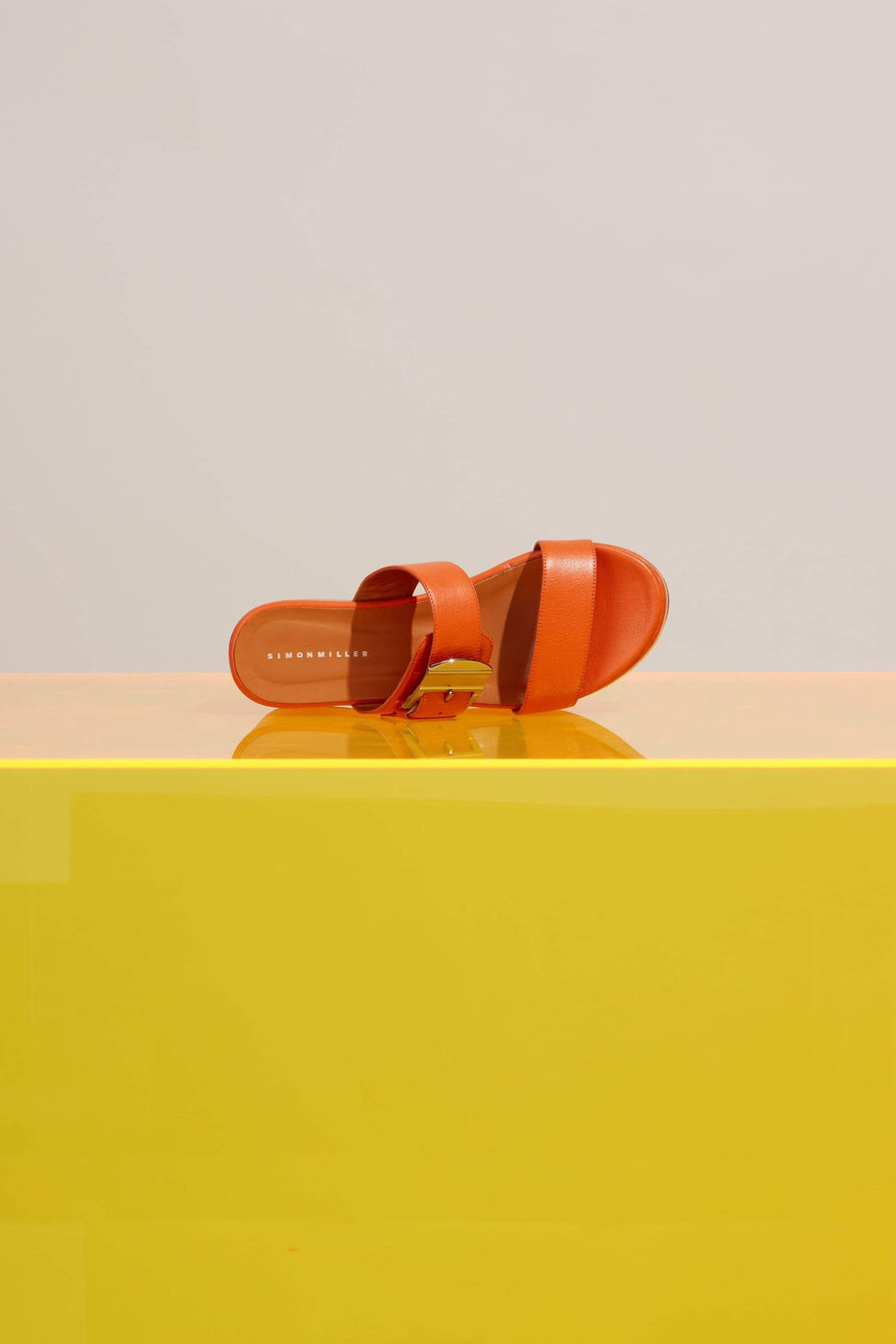 Coaster Platform in Sponge Orange