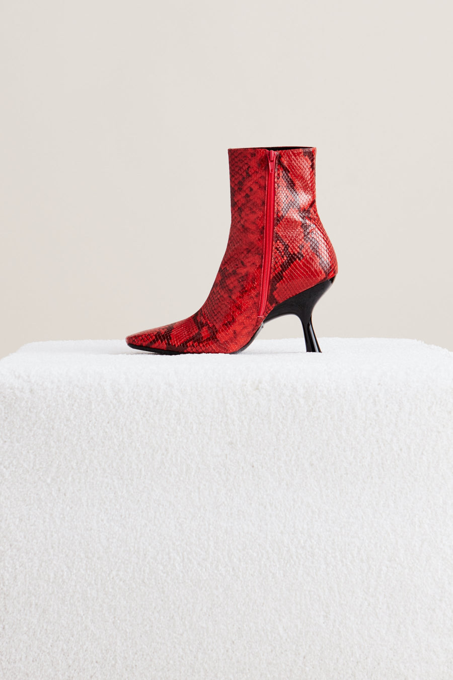 Foxy Boot in Tango Red