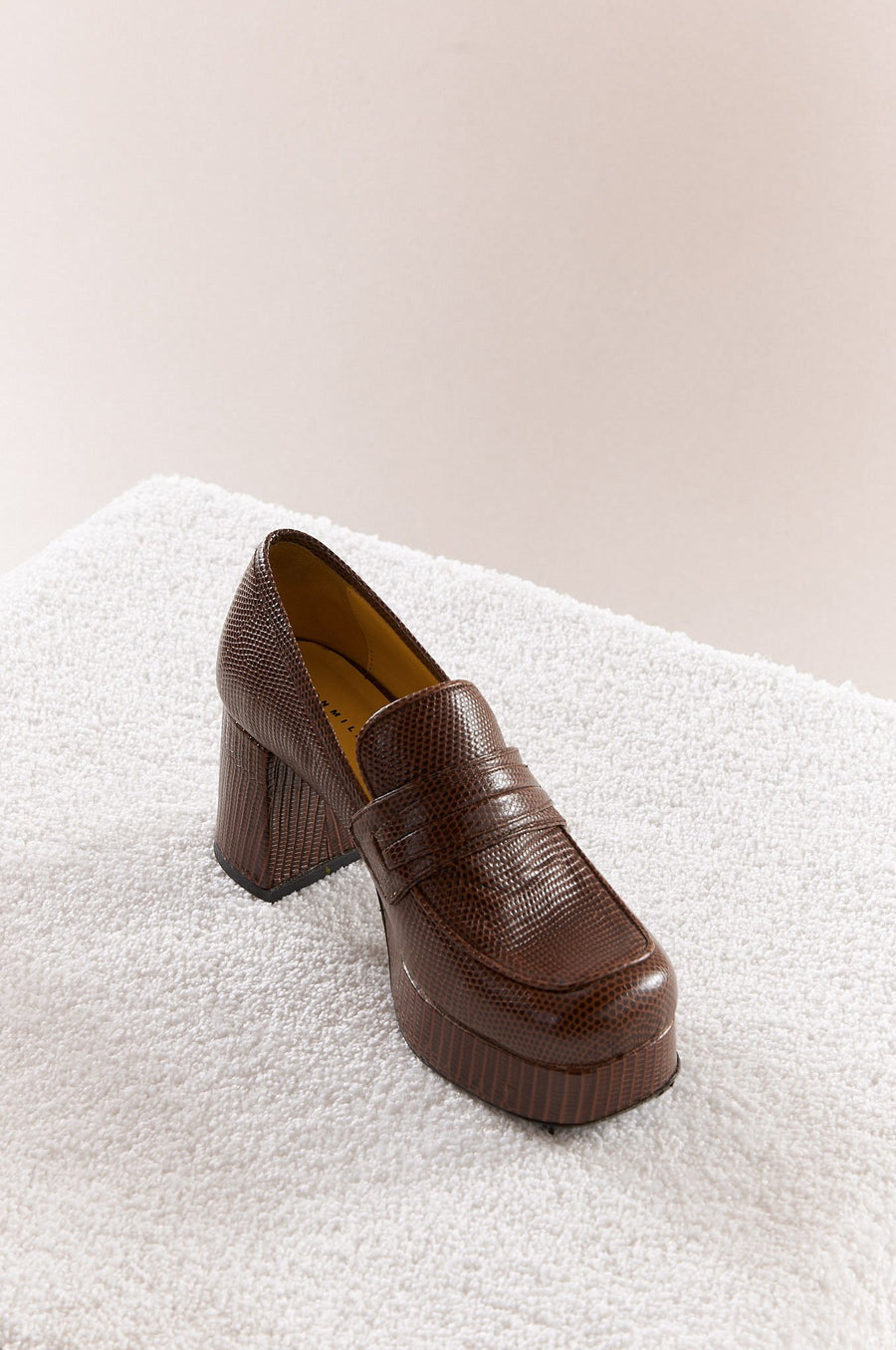 Hustler Loafer in Foxtail Brown