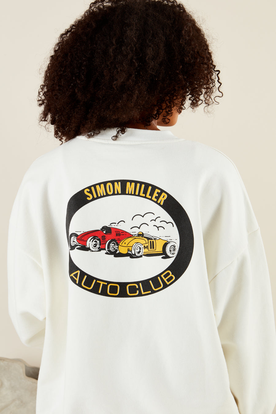 AUTO CLUB SWEAT IN STREET RACE PRINT