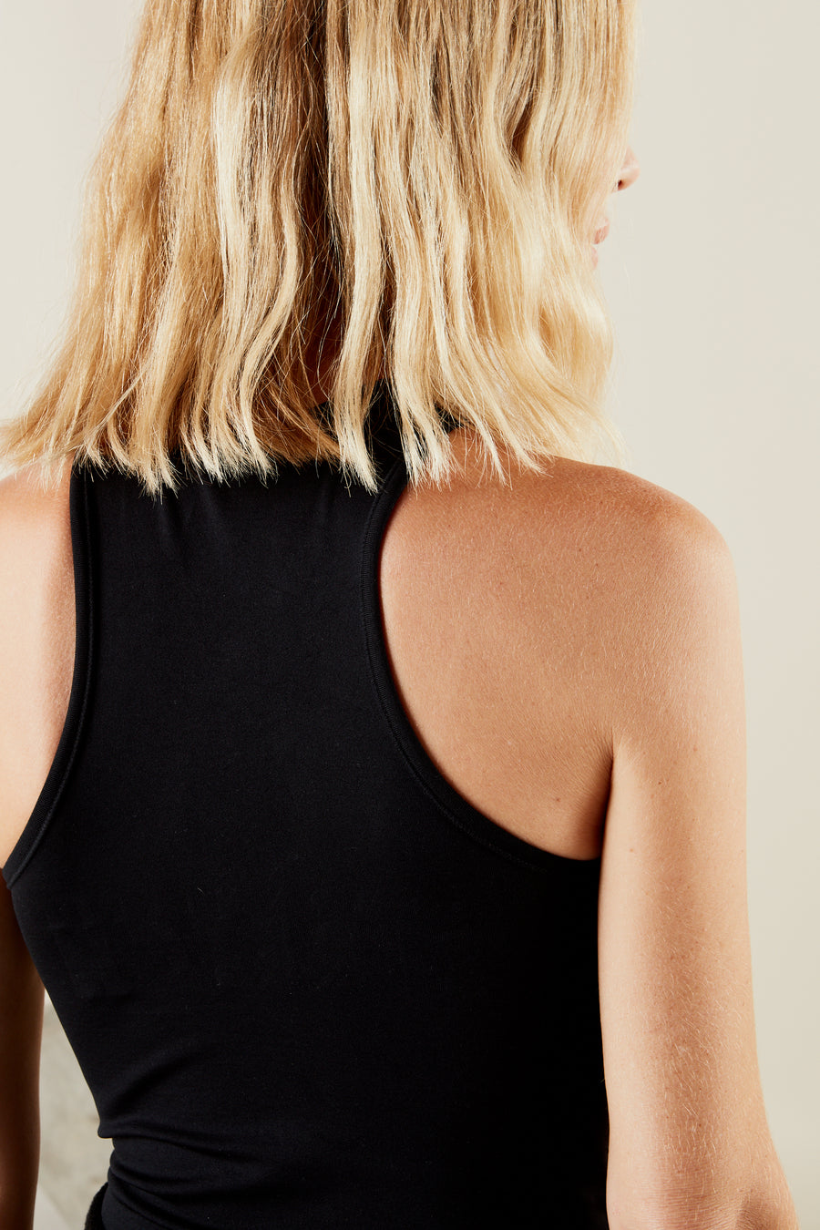 STRETCH Keao Bodysuit in Black