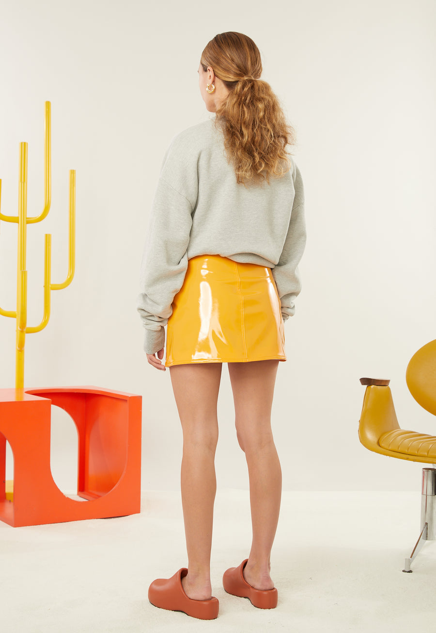 Rista Oversized Sweatshirt in Banana Print
