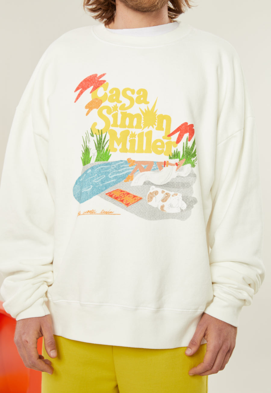 Rista Oversized Sweat in Casa