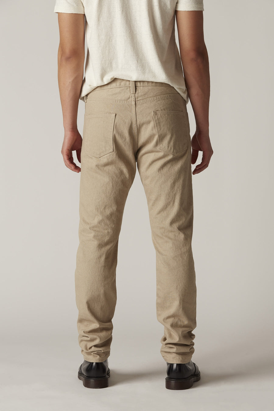M001 Narrow in Tan Rinse Wash 1