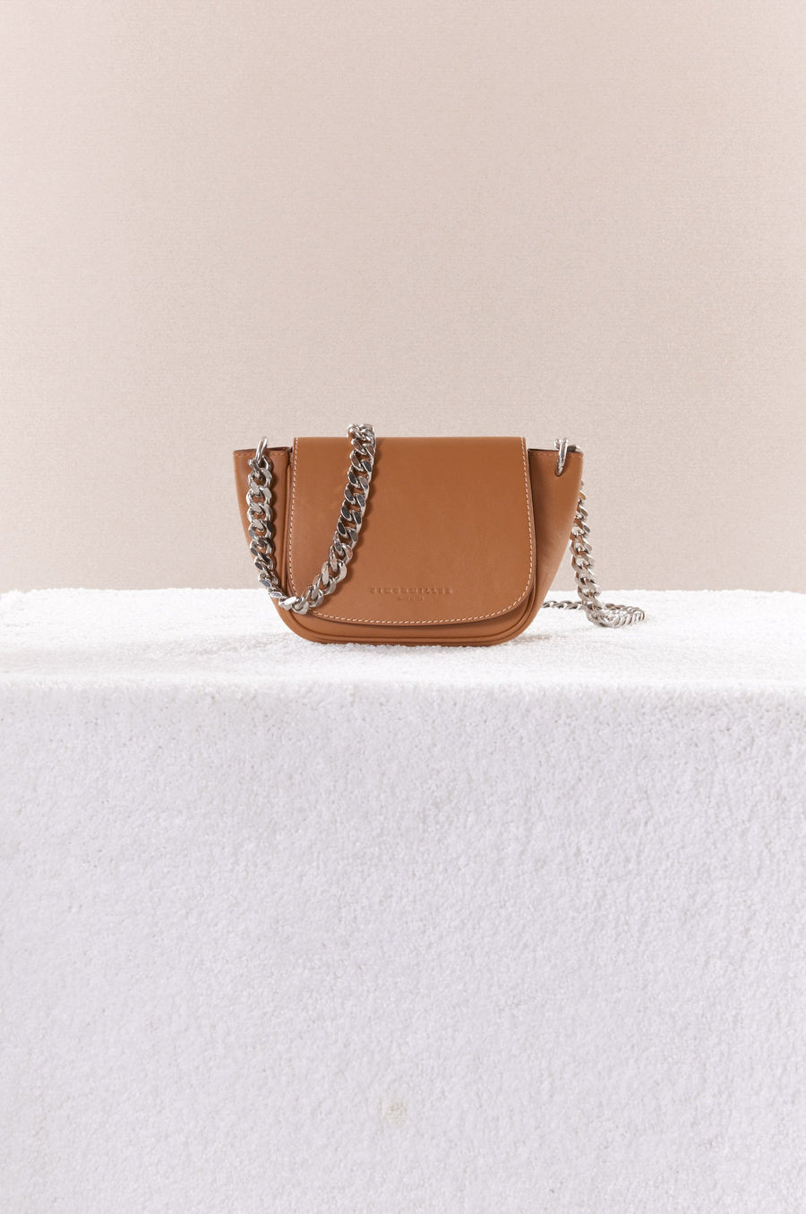 Mini Bend Bag in Toffee