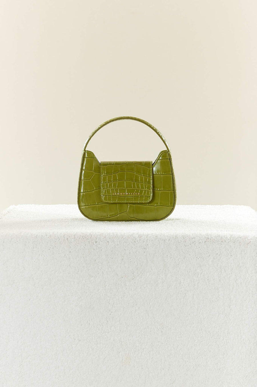 Mini Retro Bag in Chartreuse