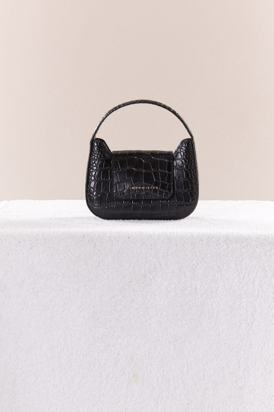 Mini Retro Bag in Black