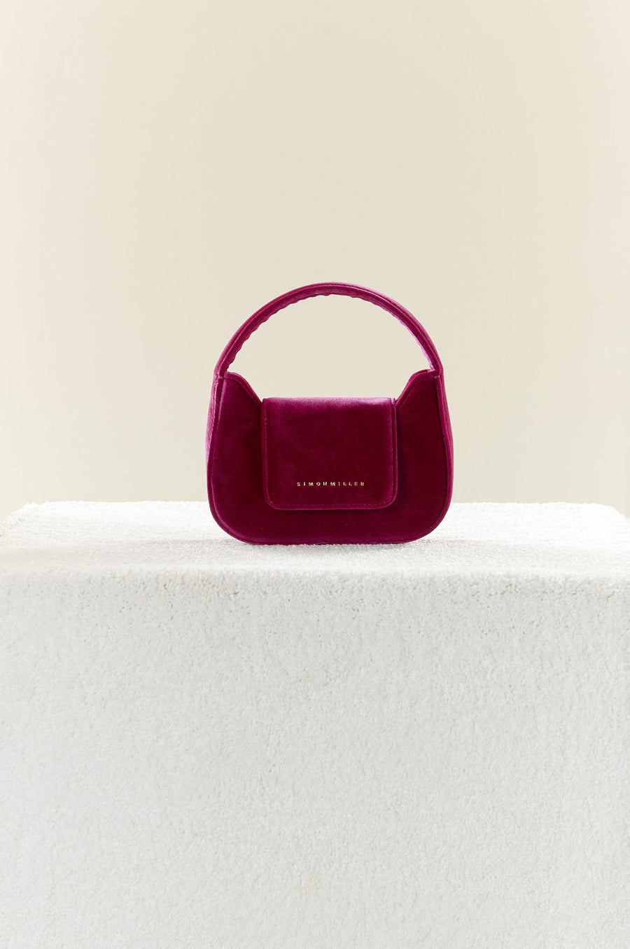 Mini Retro Bag in Magenta