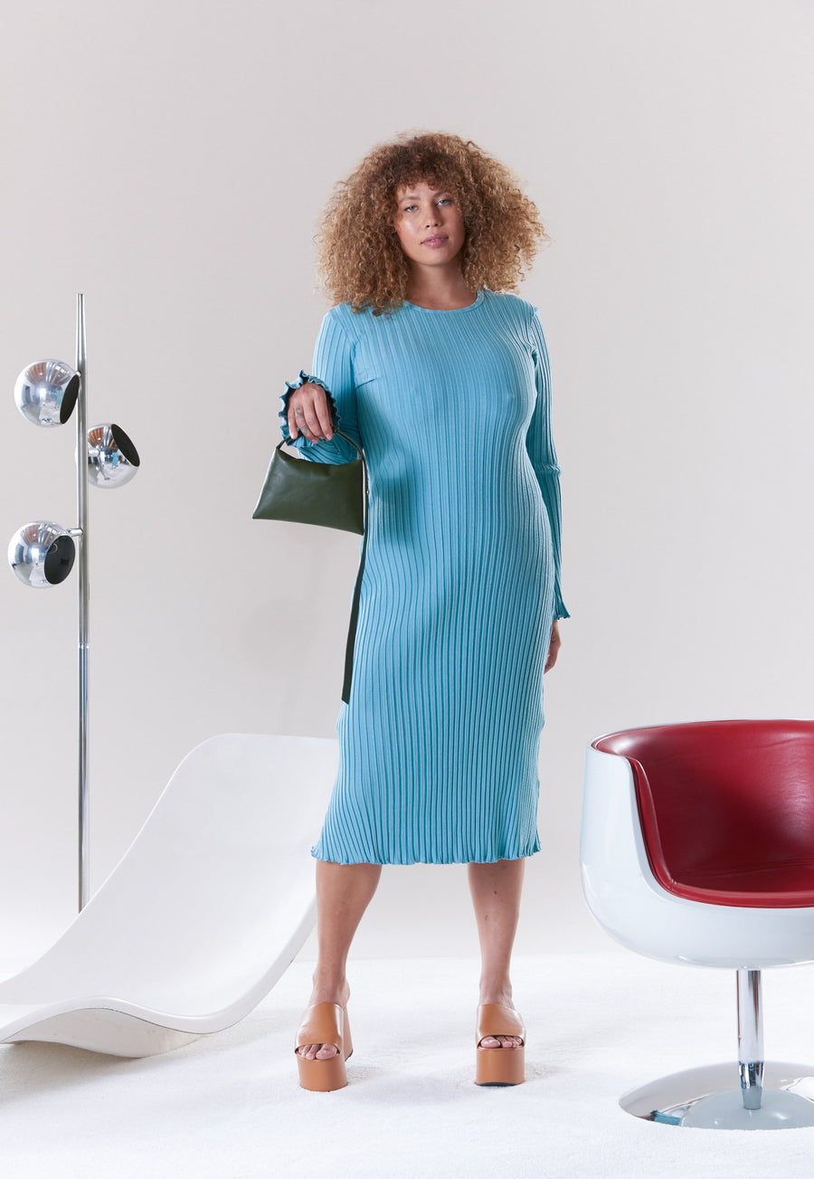 Wells Dress in Wave
