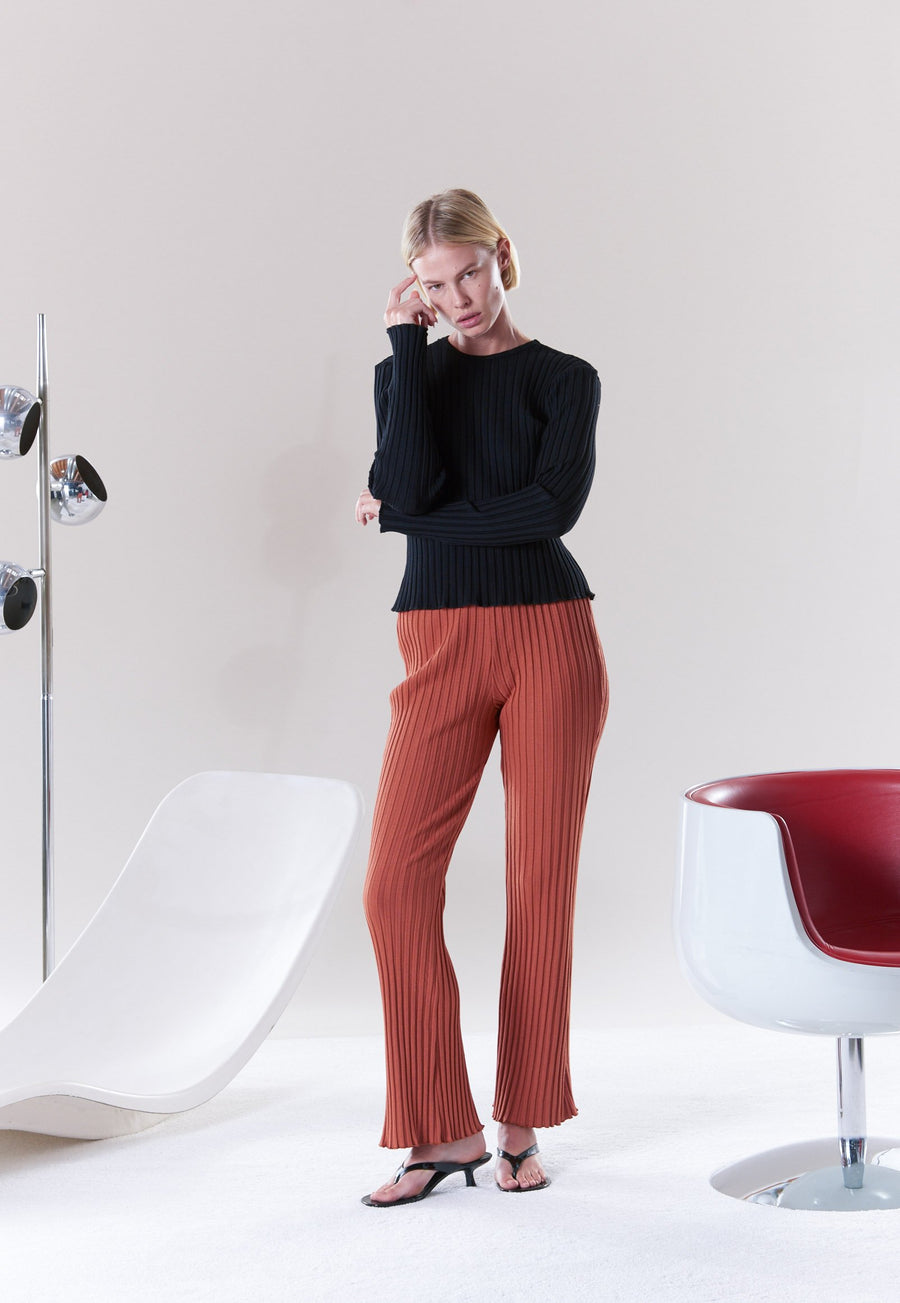 Cyrene Pant in Sepia Brown