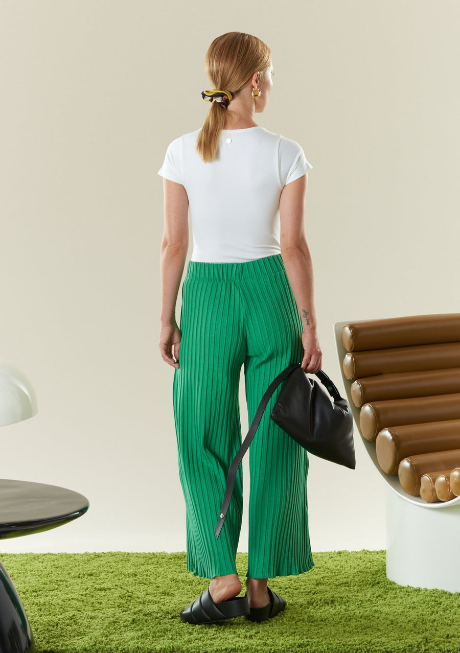 RIB Alder Pant in Jungle Green