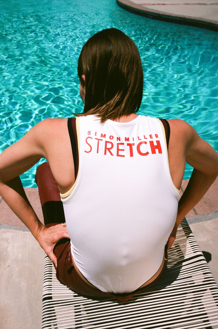 STRETCH Nash Bodysuit in White