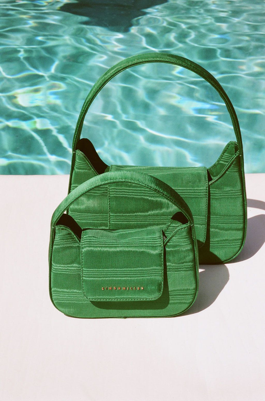Mini Retro Bag in Jungle Green