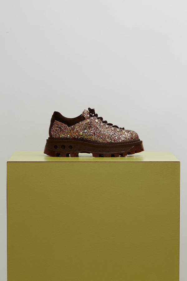 F107 Low Tracker Boot in Glitter Multi