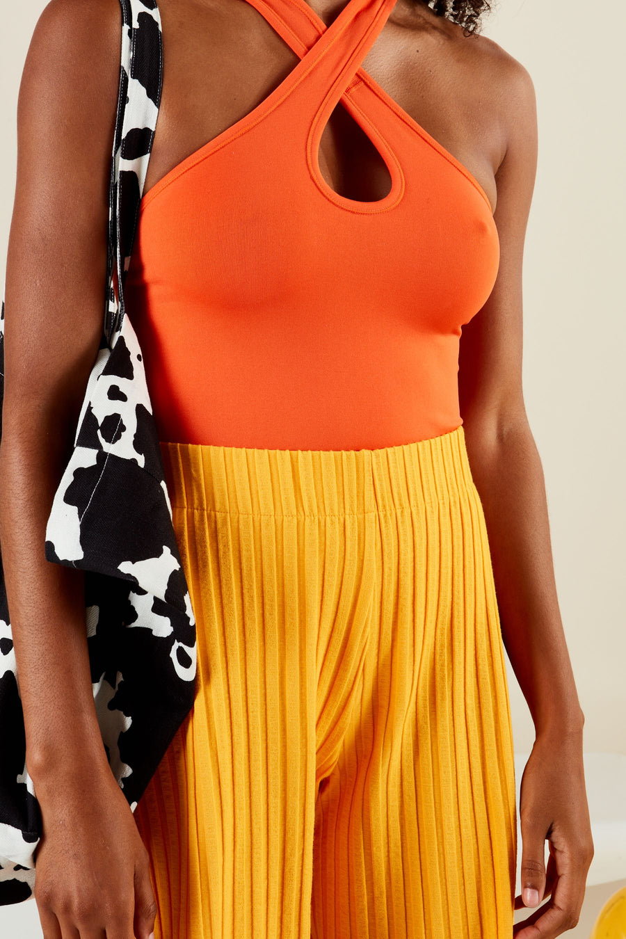 RIB SUTTON SHORT IN SUNSET ORANGE