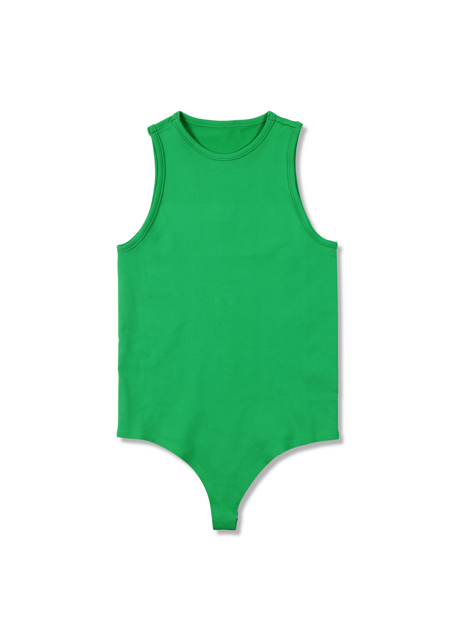 STRETCH Nash Bodysuit in Jungle Green