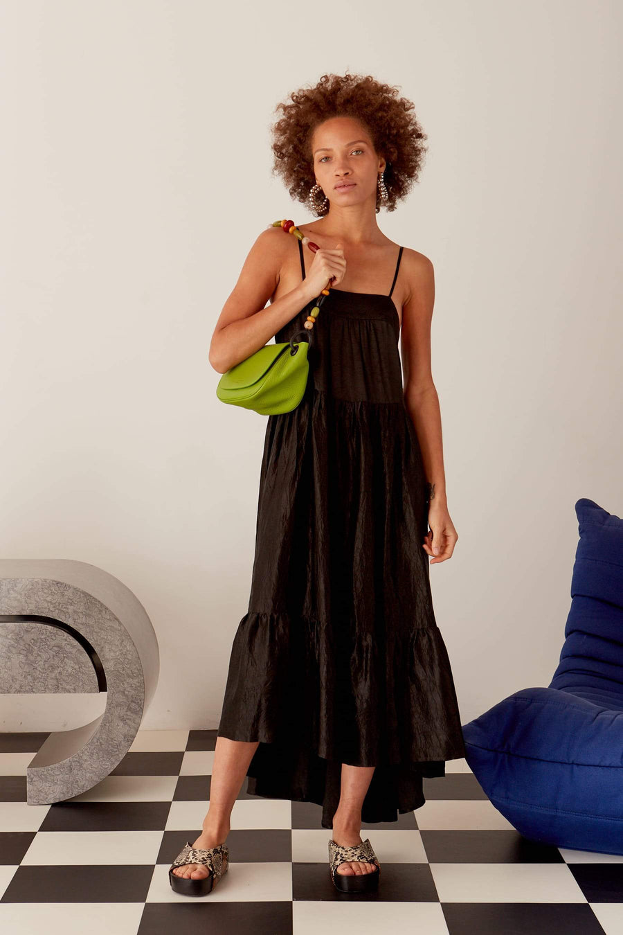Pumpa Dress in Black