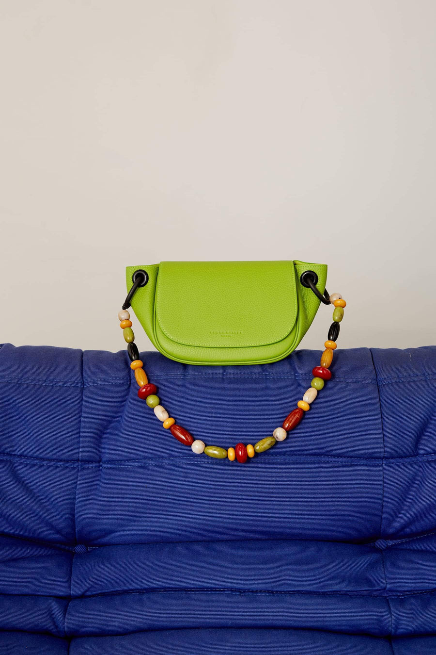 Bend Bag in Kiwi Bead Strap