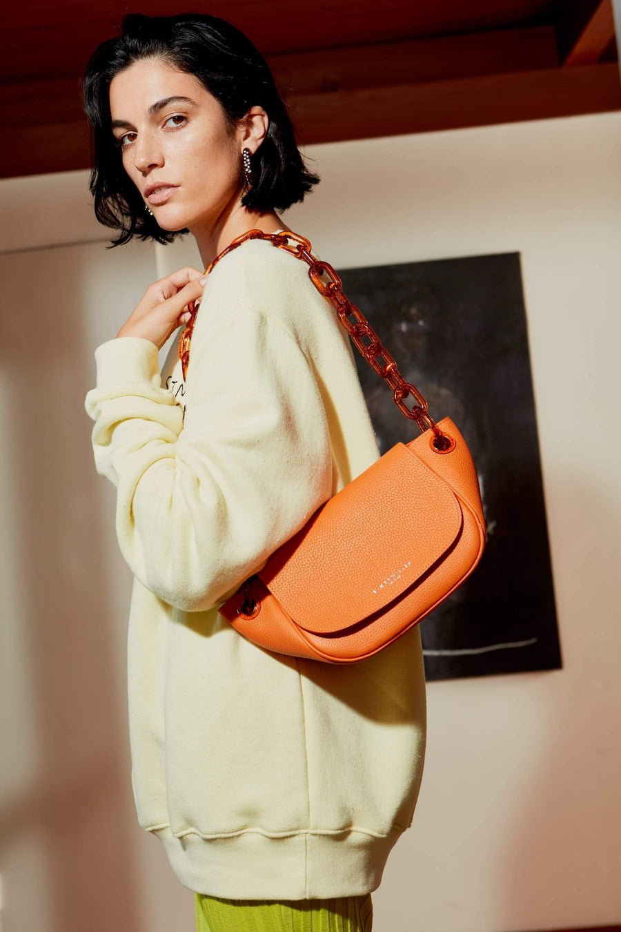 Bend Bag in Sponge Orange