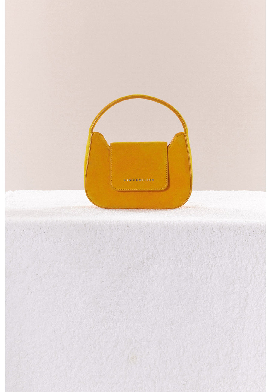 Mini Retro Bag in Saturn Yellow