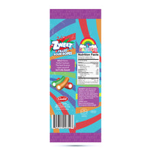 Load image into Gallery viewer, Zweet Sour Rainbow Filled Ropes 4.5oz