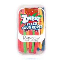 Load image into Gallery viewer, Zweet Sour Rainbow Ropes 10oz