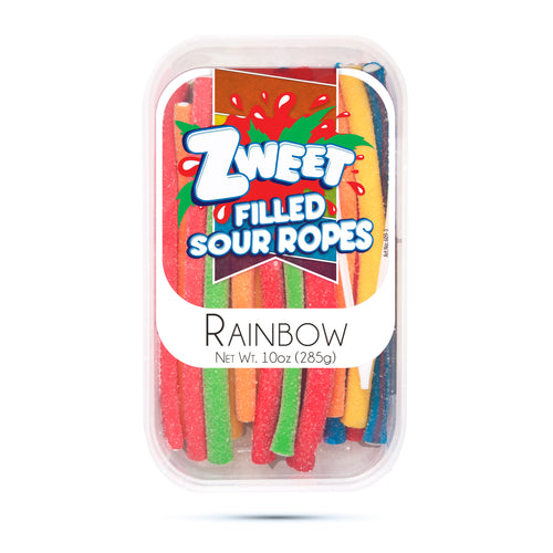 Zweet Sour Rainbow Ropes 10oz