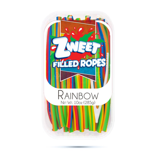 Zweet Rainbow Swirl Ropes 10oz