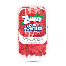 Load image into Gallery viewer, Zweet Sour Strawberry Twisteez 10oz