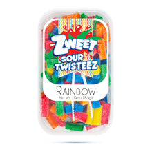 Load image into Gallery viewer, Zweet Sour Rainbow Twisteez 10oz