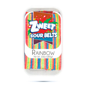 Zweet Sour Rainbow Belts 10oz